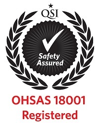 ISO OHSAS 18001 Certificate to Lucky Star Alloys Doha